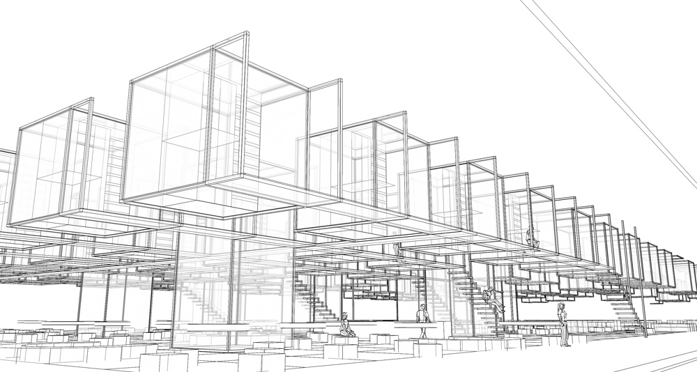 wireframe-campus